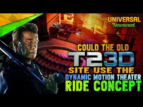 Would the Dynamic Motion Theater fit Universal Studios Florida? - Universal Studios News 10/25/2017