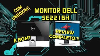 """Monitor Dell 22"""" SE2216H - Review Completo   Geekmedia"""
