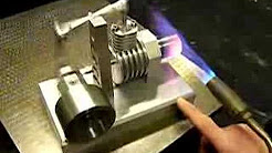 finax stirling engine - motore stirling