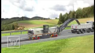 WIRTGEN GmbH┃Animation Kaltfräsen: Vacuum Cutting System DE