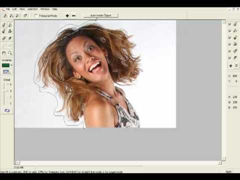 Photoshop - Recorte utilizando o plugin Knockout 2.0