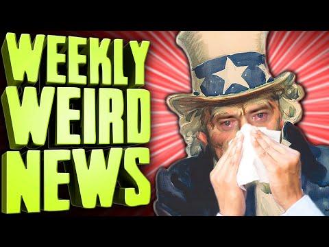 AMERICA #1 (at Spreading Disease) - Weekly Weird News