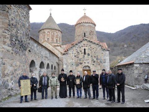 Армяне хотели помешать богослужению удин