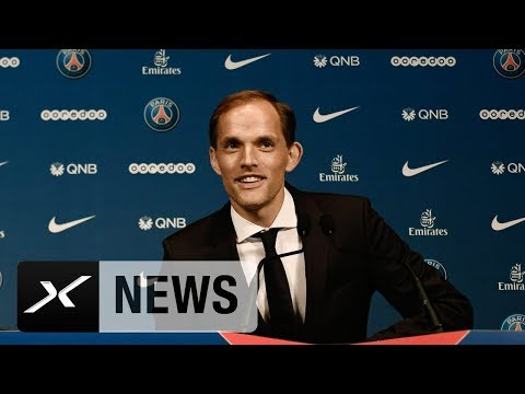 Thomas Tuchel: Seine Begrüßungsworte auf Französisch | Paris Saint-German | Neymars neuer Trainer