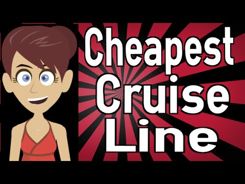 What Is The Cheapest Cruise Line YouTube - Cheapest cruise line
