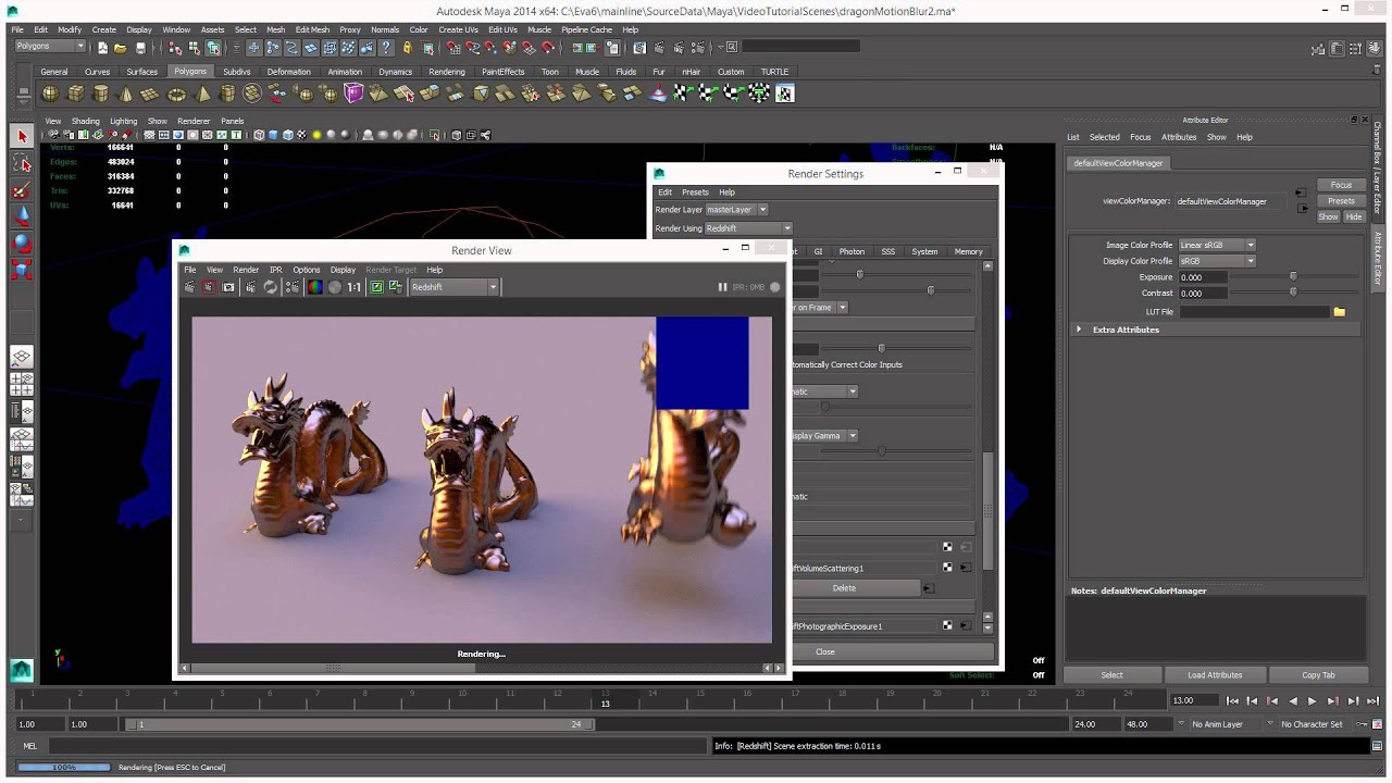 Introduction To Redshift For Maya (Part 1)
