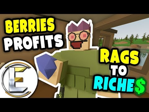 Berries Profits | Unturned Rags to Riches - Being nice always helps (Roleplay) #8