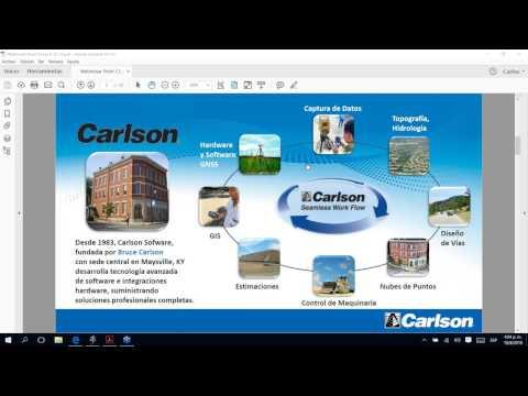 Procesamiento de Nubes de Puntos de Drones y Escáneres Láser con Carlson Point Cl
