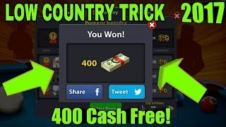8 Ball Pool Low Country Trick Winning 400 Cash