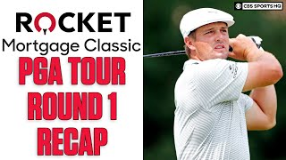 Round 1 Recap of PGA Tour Rocket Mortgage Classic, Bryson DeChambeau tied for 2nd | CBS Sports HQ