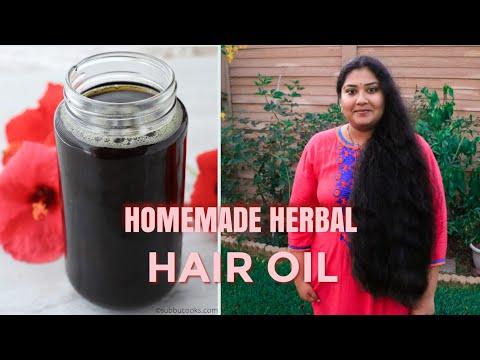 Homemade Herbal hair oil | Natural oil boosts hair growth