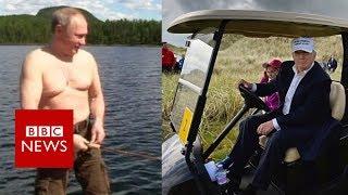 Would you holiday like Trump or Putin?   BBC News
