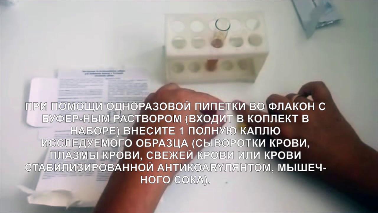 Инструкция антител