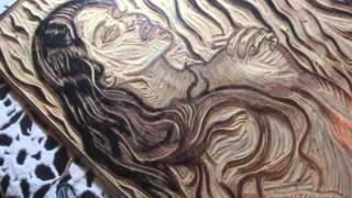 relief printing Linocut tutorial 2