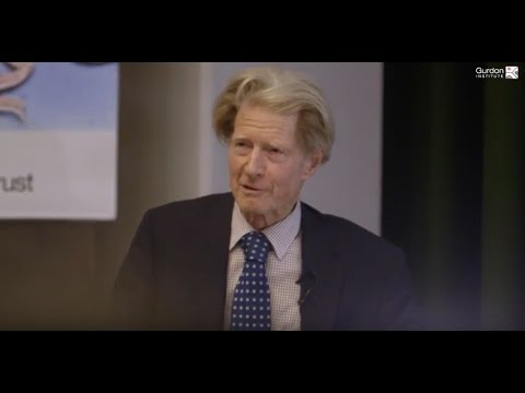 Gurdon Institute | John Gurdon's 'Journey of a lifetime' lecture, March 2016