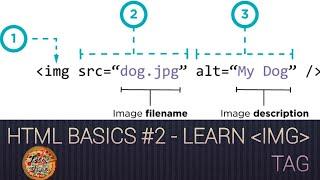 HTML Basics #2 | Add an image | Techy Pizza