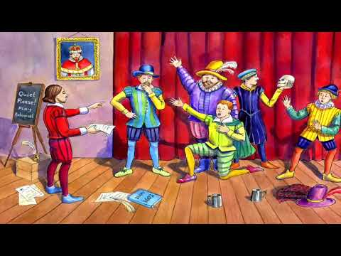 The story of William Shakespeare for kids