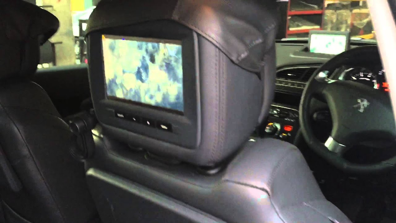 Peugeot 5008 3008 Dvd Player Full Set System Youtube