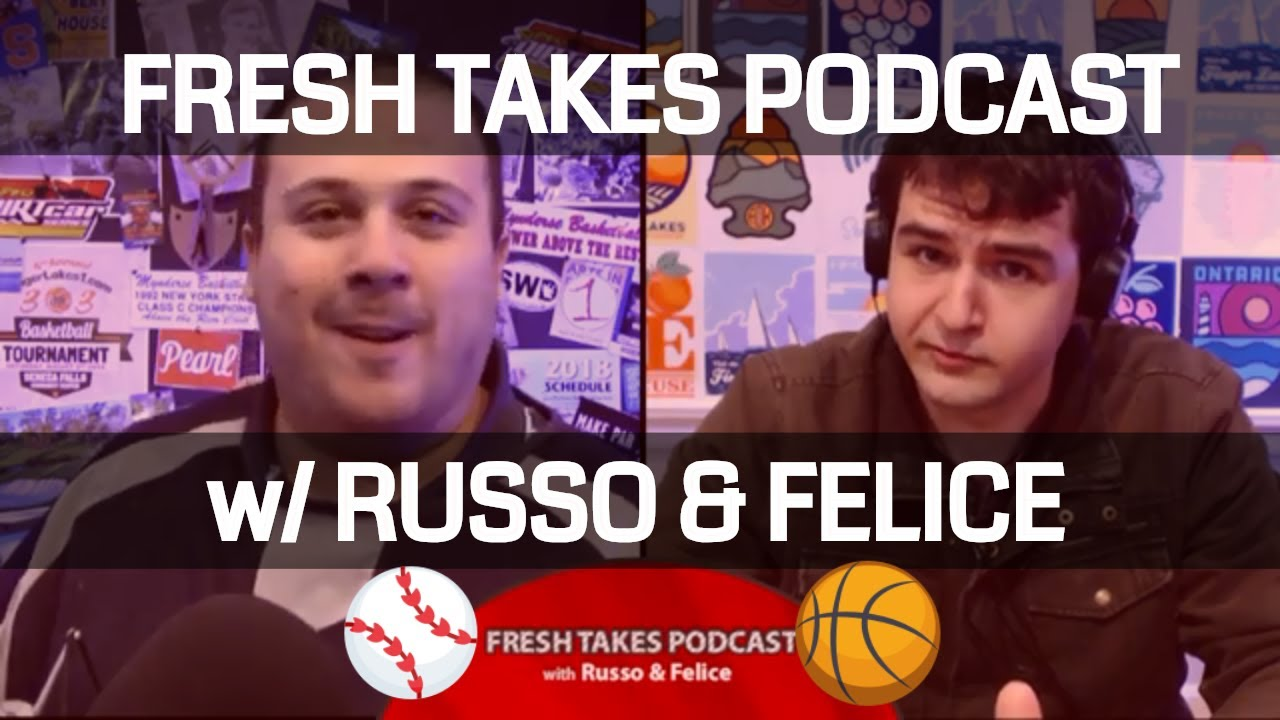 FRESH TAKES: World Series Preview & NBA Kick-Off (podcast)