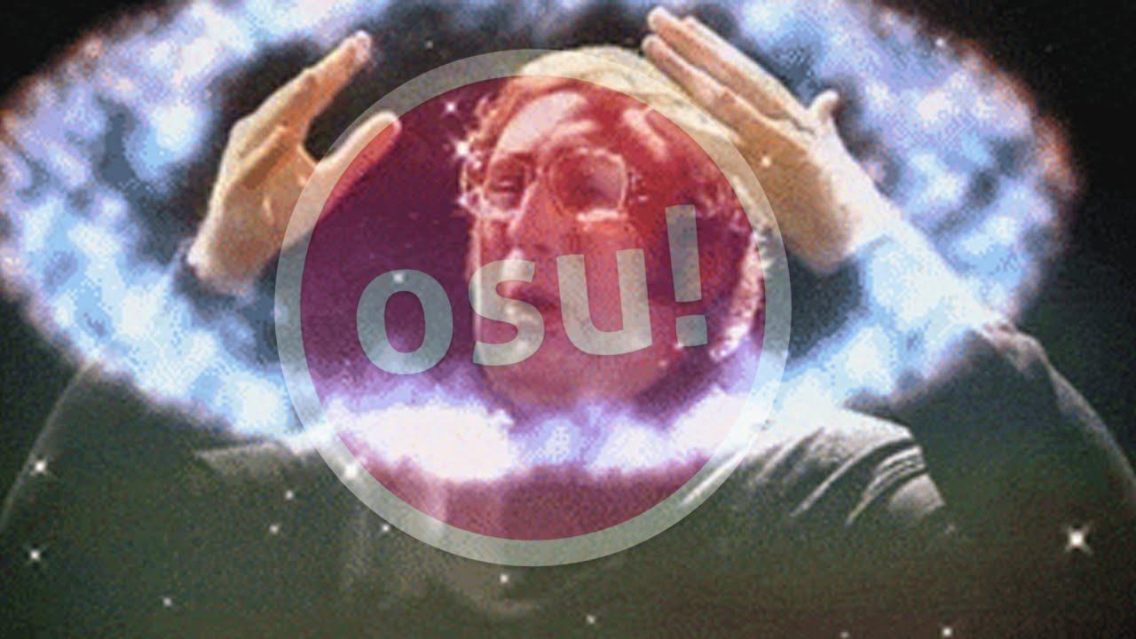 Playing osu! with MY FEELINGS