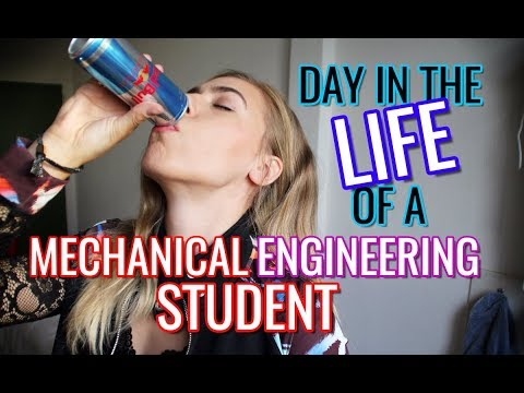 Day in the Life of a Mechanical Engineering Student | Engine