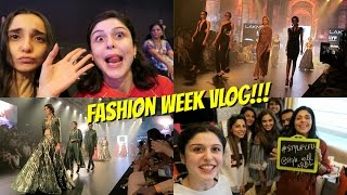VLOG|| 3 Days At Fashion Week!!!