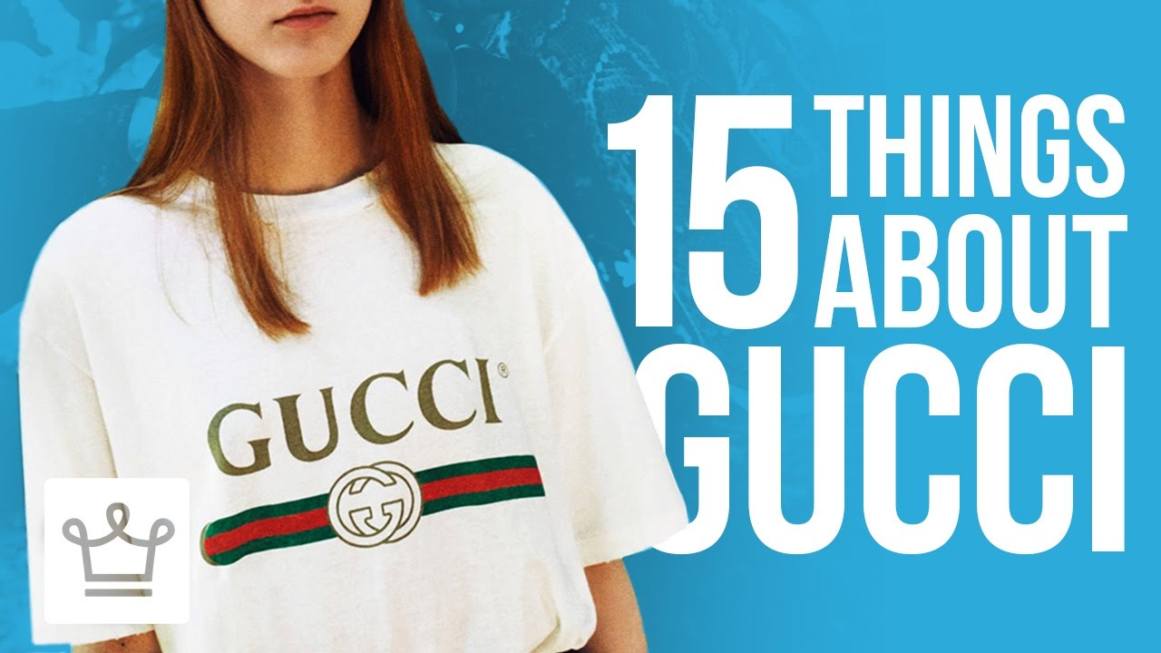 d7bf8e79eeb24c 15 Things You Didn t Know About GUCCI - YouTube