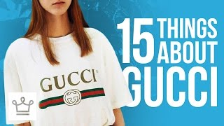 15 Things You Didn't Know About GUCCI