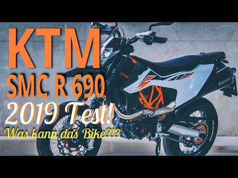 Was kann die KTM SMC R ?? Supermoto für die Straße!