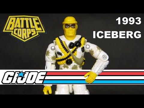 Gi Joe 1989 Battle Force 2000 Comm Tech Trooper DEE JAY figure Vintage 80s AS IS