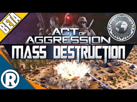 Act of Aggression: BETA - MASS DESTRUCTION