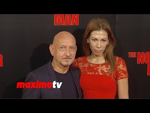 Ben Kingsley & Daniela Lavender | The November Man Premiere | Red Carpet Arrivals