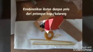 Workshop Cara Membuat Kain Shibori / Jumputan / Tie Dye / Ikat Celup