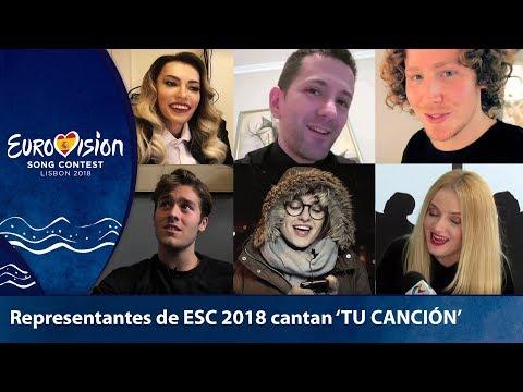 Representantes de EUROVISIÓN hacen un cover de **TU CANCIÓN**