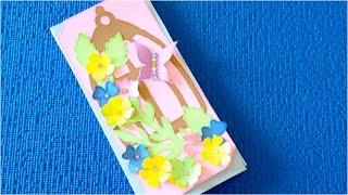 DIY. ✿Как сделать открытку-шоколадницу своими руками✿.(Если вам надоели одинаковые однообразные идеи для открыток и подарочной упаковки, и вы ищите новые креатив..., 2016-03-15T09:00:00.000Z)