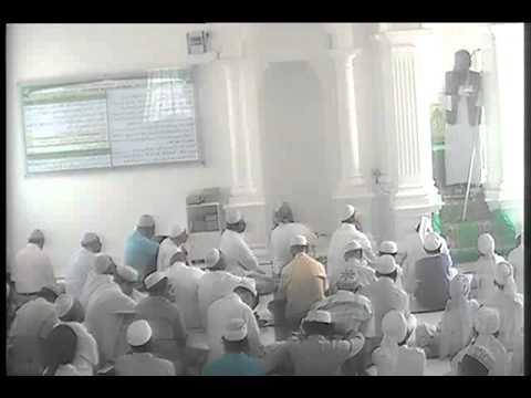 Jumma Sermon  by Ash Sheikh Luthufi (Shola) at Matara Muhiyaddeen Jumu'a Masjid 2014 07 04