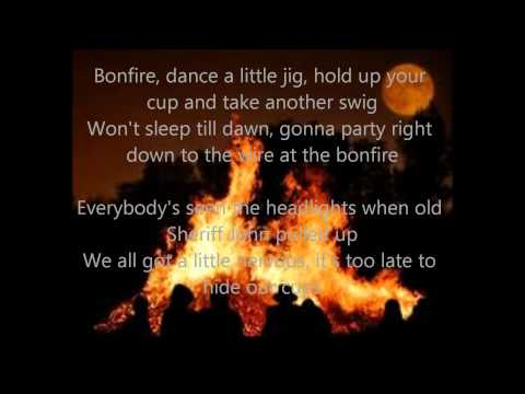 Bonfire- Craig Morgan (Lyrics)