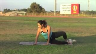 упражнения для бедер   махи ногой всторону