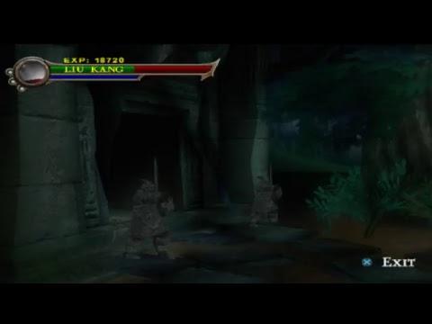 MK Shaolin monks kano vs reptile  boss