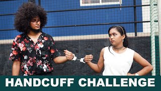 Rishi and Shivani |  HANDCUFF CHALLENGE