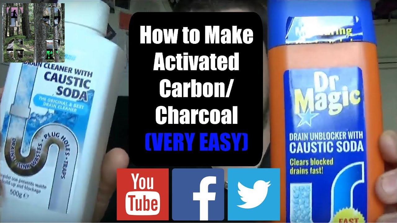 Save money, make Activated Carbon/Charcoal health benefits, great for  Water/Air Filters
