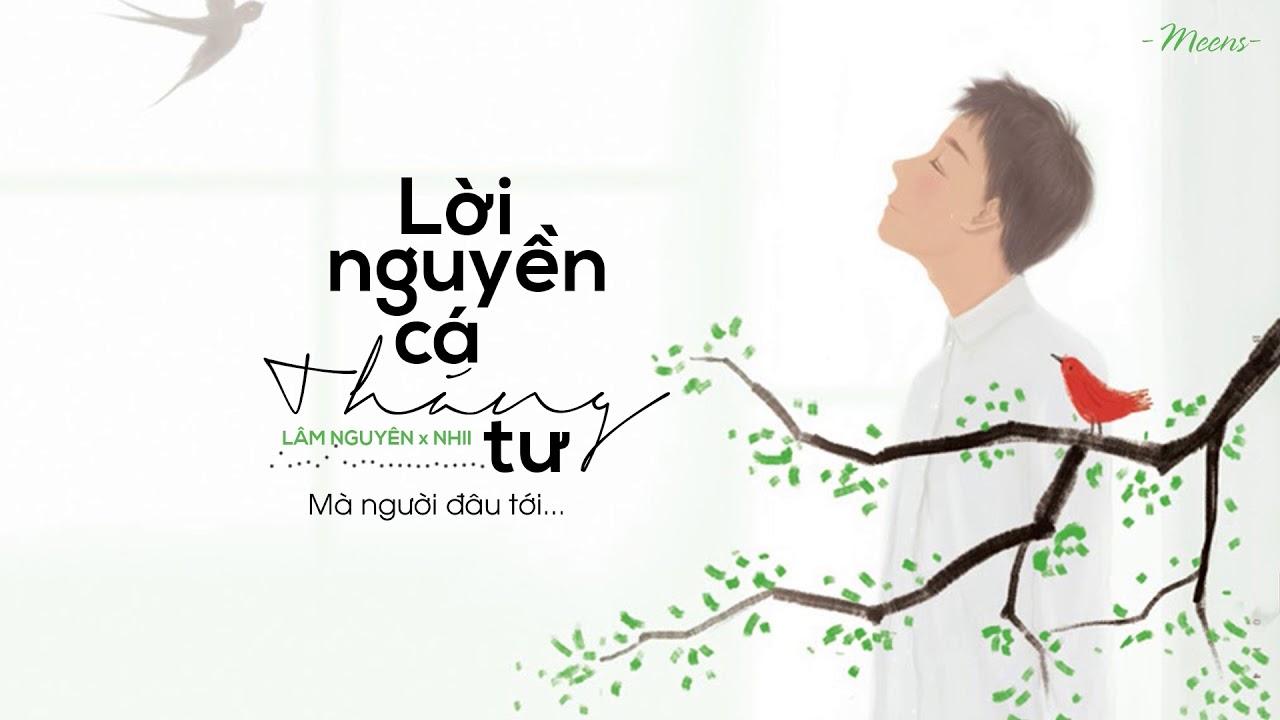 Lời Nguyền Cá Tháng Tư – Lâm Nguyên x Nhii「Lyrics Video」Meens