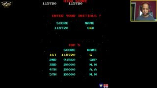 Galaga (PC) - Video Game Live Stream with GSP
