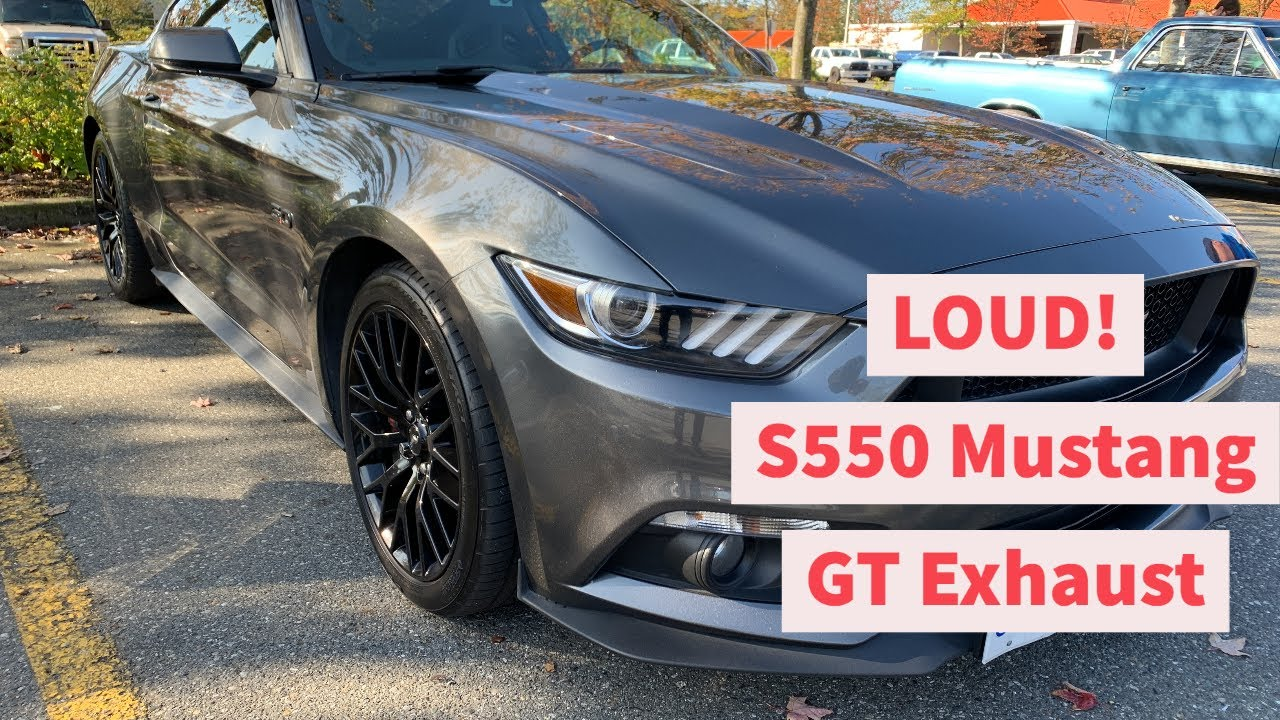 2015 Mustang Gt Roush Cat Back H Pipe Cold Start Revs Launch