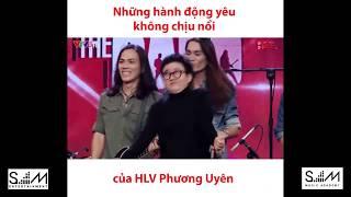 Những hành động đáng yêu của cô Phương Uyên tại Ban Nhạc Việt