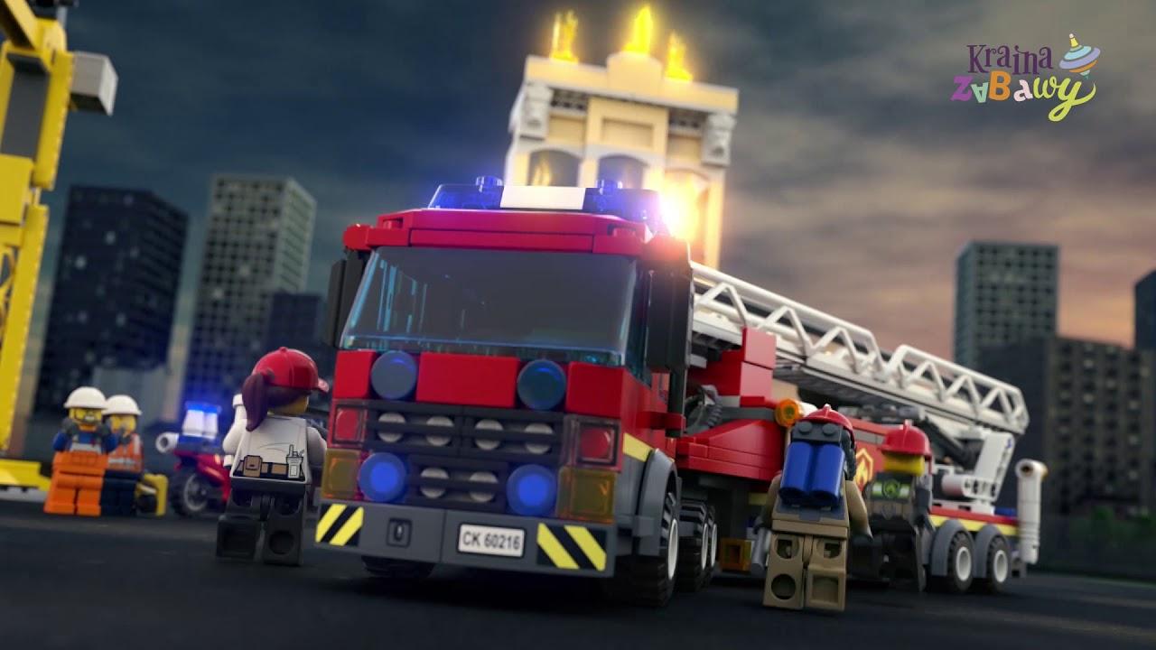 Lego City Straż Pożarna W śródmieściu 60216 Wwwkrainazabawypl