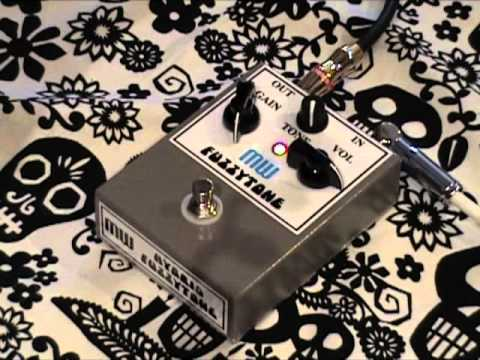 MW Effects Fuzzytone Hybrid Fuzz Guitar Effects Pedal Demo