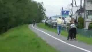 【犯罪】自転車にジェットエンジン付けてみた【補完】 thumbnail