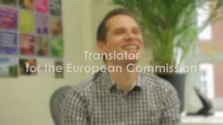 Language Launchpad: John is a Translator for the European Commission