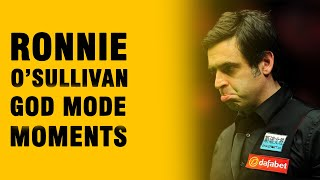Snooker. When Ronnie O'Sullivan Went GOD MODE!